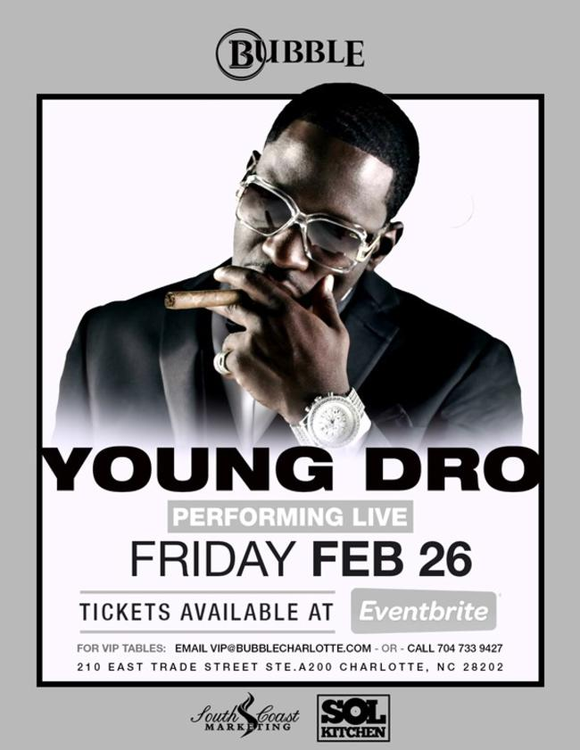 YOUNG DRO Performing Live!