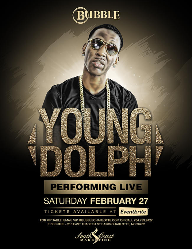 YOUNG DOLPH PERFORMING LIVE